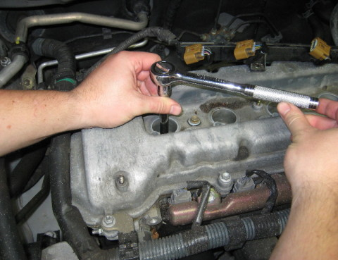 Replacing Spark Plugs